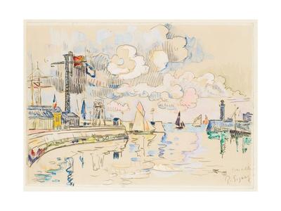 Granville Giclee Print by Paul Signac