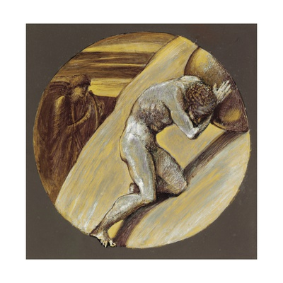 Sisyphus Giclee Print by Sir Edward Coley Burne-Jones