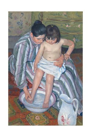 Child's Bath, 1893 Giclee Print by Mary Cassatt