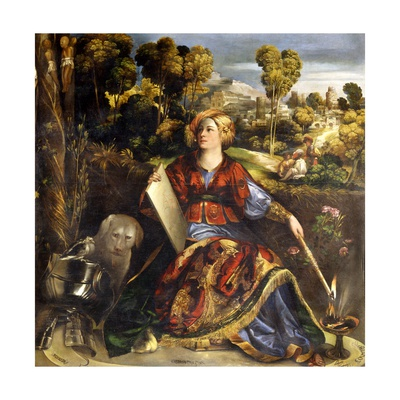 Circe Giclee Print by Dosso Dossi