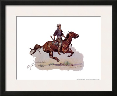 Crow Scout Posters by Frederic Sackrider Remington