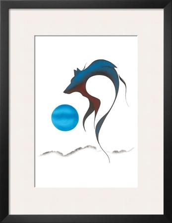 Wolf Spirit I Prints by Isaac Bignell