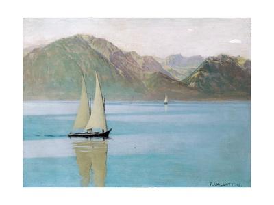 Boat on Lake Geneva, 1892 Giclee Print by Félix Vallotton