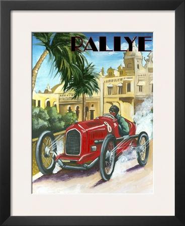 Rallye Prints by Chris Flanagan