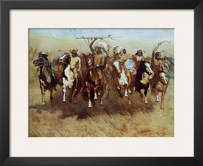 Victory Dance Posters by Frederic Sackrider Remington