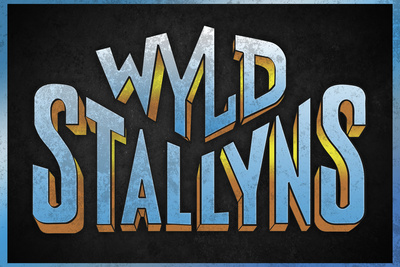 Wyld Stallyns Movie Music Plastic Sign Plastic Sign