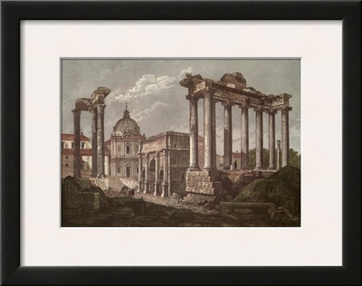 The Roman Forum Posters by Alessandro Antonelli