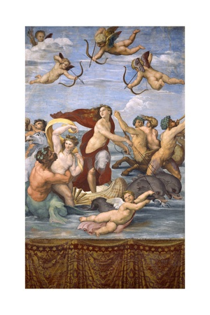 The Triumph of Galatea, C.1514 Giclee Print by  Raphael