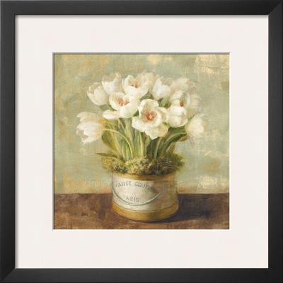 Hatbox Tulips Prints by Danhui Nai