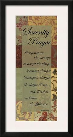 Serenity Prayer Art by Smith Haynes