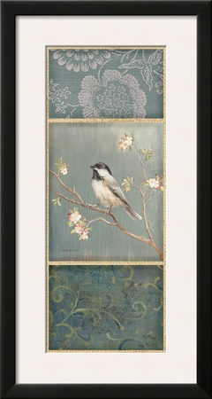 Black Capped Chickadee Posters by Danhui Nai