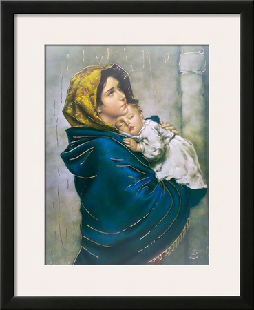 Madonna of the Poor Prints by Roberto Ferruzzi