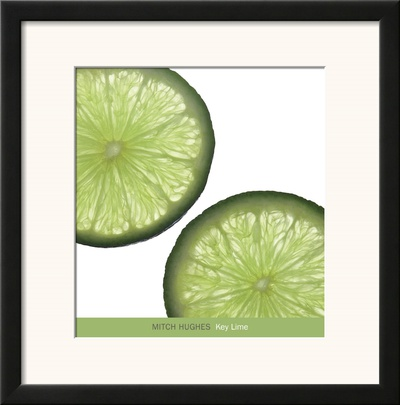 Key Lime Art by Mitch Hughes