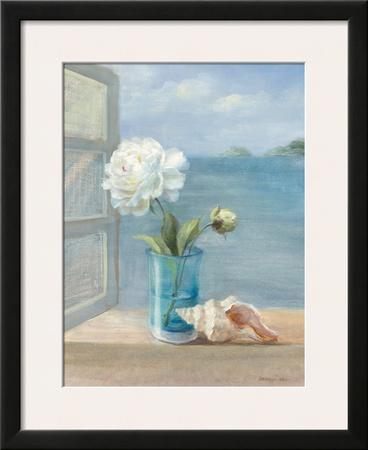 Coastal Floral I Print by Danhui Nai