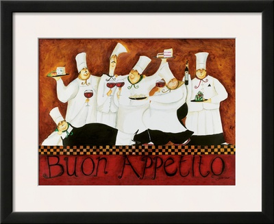 Buon Appetito Posters by Jennifer Garant