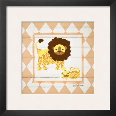 Lions Prints by Sylvia Murray