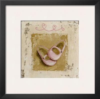 Chaussures Roses Prints by Véronique Didier-Laurent