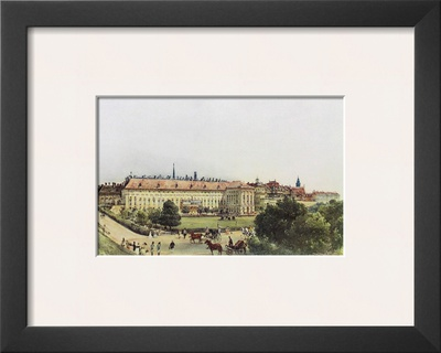 Old Castle and Bellaria in Vienna Prints by Rudolph von Alt