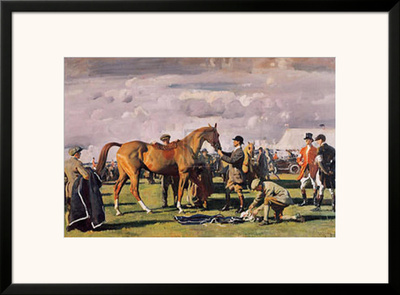 The Red Prince Mare Poster by Alfred James Munnings