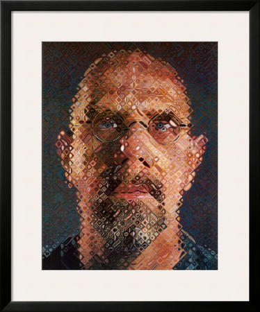 Self-Portrait, 2000-2001 Poster by Chuck Close