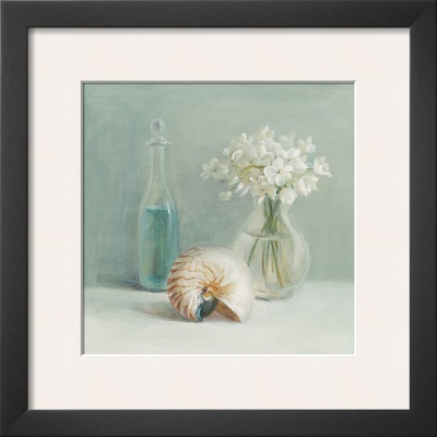 White Flower Spa Print by Danhui Nai