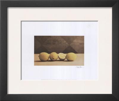 Lemons Prints by Rhonda Addison