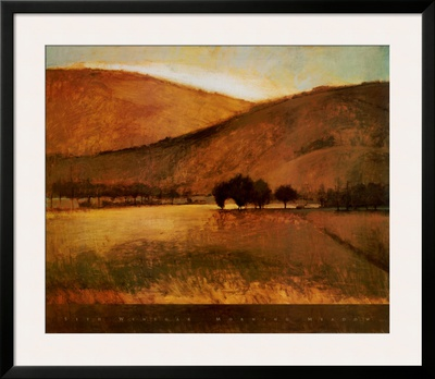Morning Meadow Print by Seth Winegar