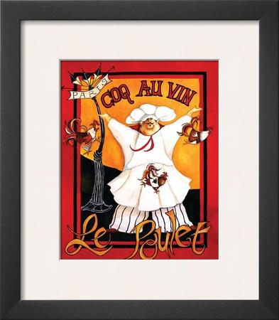 Coq Au Vin Prints by Jennifer Garant