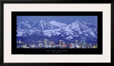 Salt Lake City, Utah Posters by Jerry Driendl