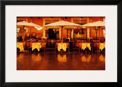 Caffe Barocco Prints by Dennis Barloga