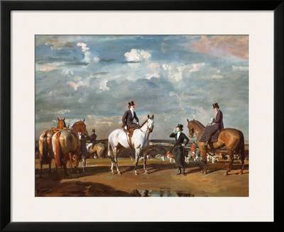Why Weren't You Out Yesterday Posters by Alfred James Munnings