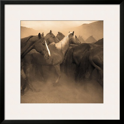 Remuda, Spanish Ranch Prints by Adam Jahiel
