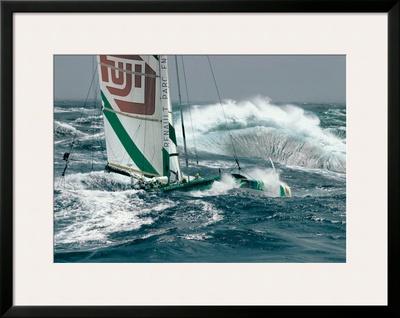 Ocean Racing Print by Gilles Martin-Raget