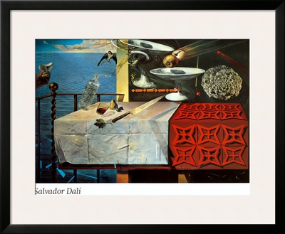 A Lively Still Life Posters by Salvador Dalí