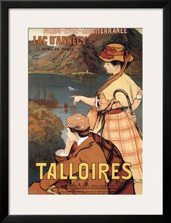 Talloires Art by Albert Besnard