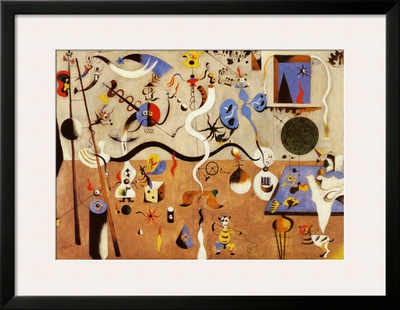Carnival of Harlequin Art by Joan Miró