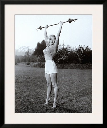 Marilyn Workin' It Print