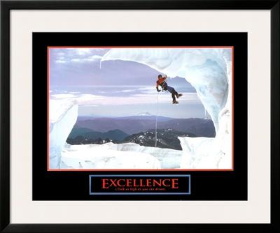 Excellence: Snow Climber Print