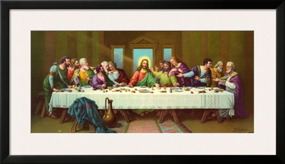 Heiliges Abendmahl Prints by  Zabateri