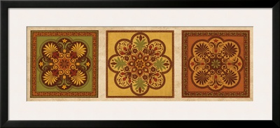 Classical Tiles IV Print by Jenny Oliver