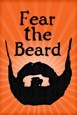 San Francisco Giants Fear The Beard Sports Plastic Sign Plastic Sign