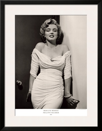 Marilyn Monroe Poster by Philippe Halsman