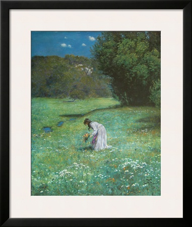 Meadow in the Forest, c.1876 Print by Hans Thoma