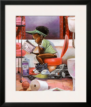 The Thinker Print by Frank Morrison