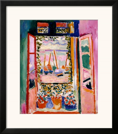 Open Window, Collioure, 1905 Print by Henri Matisse