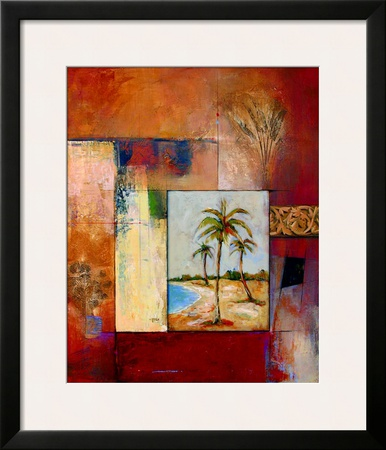 Palm Serenity I Prints by  Judeen
