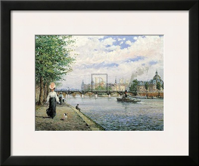 The Bridges of Paris Posters by Alan Maley
