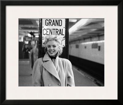 Marilyn Monroe, Grand Central Prints by Ed Feingersh
