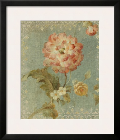 Poppy on Sage Prints by Danhui Nai