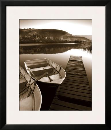 Row Boat Awaits Prints by Danita Delimont